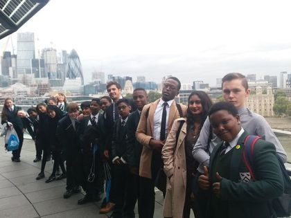Student Voice trip to City Hall