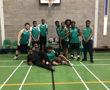 Year 11 basketball team