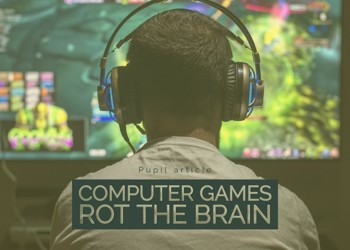 """""""Computer games rot the brain"""" : Response"""