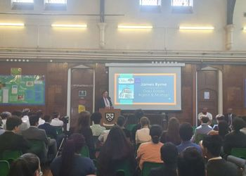Guest Speakers talk to Year 11 pupils