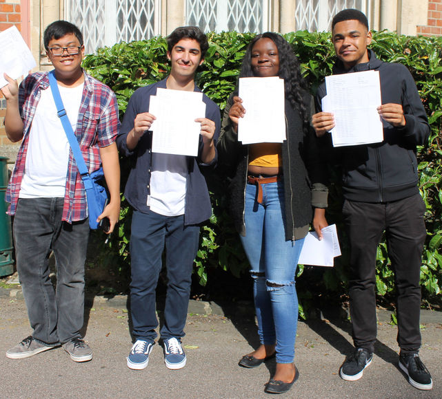 GCSE Results Day 2017 Top Students